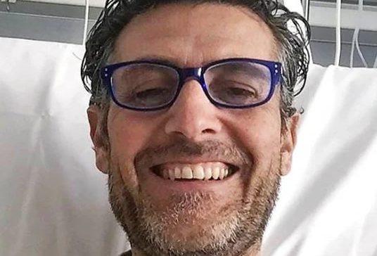 Gianni Argellati, dipendente 50enne di Fincantieri di La Spezia
