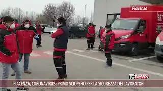 Piacenza, coronavirus: primo sciopero per la sicurezza dei lavoratori
