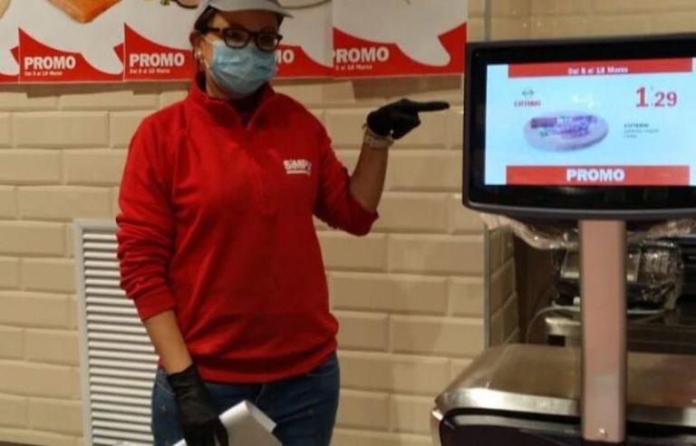 Lavorare in un supermercato ai tempi del virus