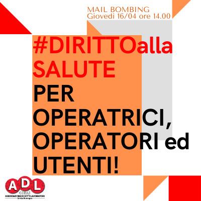 Mailbombing Settore Accoglienza Bologna sul Diritto alla Salute!