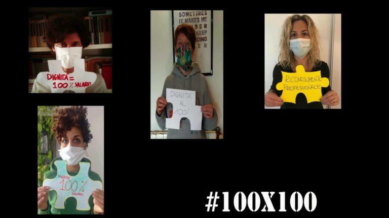 È iniziata la campagna finoallultimopezzo #100×100