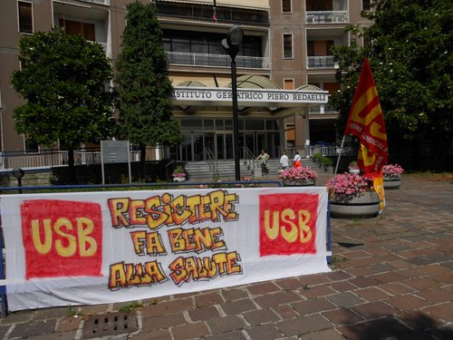 USB denuncia alla Procura di Milano le gravi criticità del Golgi-Redaelli