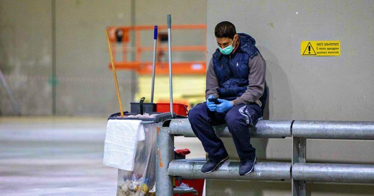 """Studio dell'Inps: """"Nelle province con più occupati nei settori essenziali c'è stato ogni giorno un 25% di contagi in più"""""""