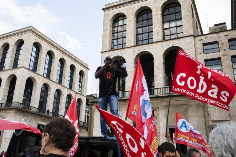 Blocchi, occupazioni, cortei. Le lotte della logistica a Milan